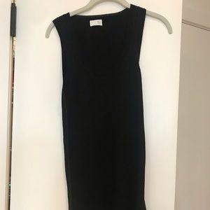 Long TSE tank cashmere/silk